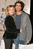 Christina Applegate and JohnathonSchaech — Stock Photo