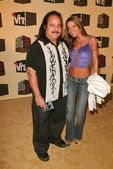 Ron Jeremy and Tabitha Stevens — Stock Photo