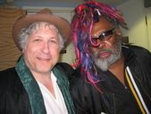 Smokey Miles and George Clinton — Stock Photo