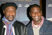 Delroy Lindo and David Brown Jr. — Stock Photo