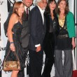 Katie Huston, Danny Huston, Robert Graham, AnjelicHuston and LaurHuston at 2004 Hollywood Legacy Awards Galat Esquire House, Beverly Hills, CA. 12-17-04 — Stock Photo #17103681
