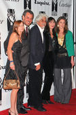 Katie Huston, Danny Huston, Robert Graham, Anjelica Huston and Laura Huston at the 2004 Hollywood Legacy Awards Gala at the Esquire House, Beverly Hills, CA. 12-17-04 — Stock Photo