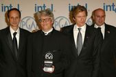 Kerry Orent, Peter Tolan, Denis Leary and Jim Serpico at the 16th Annual Producers Guild of America Awards Show, Culver Studios, Los Angeles, CA, 01-22-05 — Stock Photo