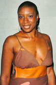 Aisha Hinds at the Bluefish Concierge hosted Launch Party for Blue Magazine, The Concorde, Hollywood, CA. 02-05-05 — Zdjęcie stockowe