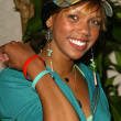 girare la bellezza all'interno fuori conferenza. Kiely williams — Foto Stock
