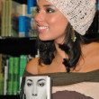 AliciKeys at at Barnes and Noble at Grove AliciKeys Signs her Songbook of Poems and Lyrics Tears For Water, Barnes and Noble at Grove, Los Angeles, C11-13-04 — Stock Photo #17114923