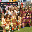 Lingerie Bowl Teams — Stock Photo