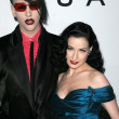 Постер, плакат: Marilyn Manson and Dita Von Teese