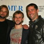 Josh Holloway, Dominic Monaghan and Matthew Fox — Stock Photo #17118781