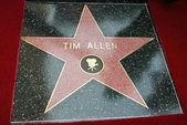 Tim Allen's Star — ストック写真