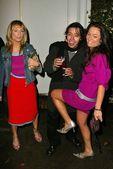 Anise Labrum, Lindsey Labrum, Efren Ramirez — Stock Photo