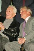 Kirk Douglas and Michael Douglas — Stock Photo