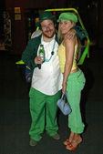 Malibu Dan Finder and Paula LaBaredas — Stock Photo