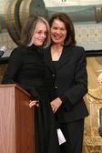 Diane Keaton and Sherry Lansing — Stock Photo