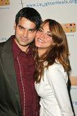 Dr. Reef Karim and Carolina Bacardi — Stock Photo
