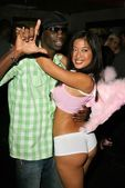 Sam Sarpong and Lena Yada — Stock Photo