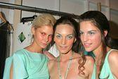Three models — Stock Photo