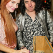 Phoebe Price and Bradley Johnson - Stock Photo