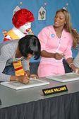 Serena Williams and Venus Williams — Stock Photo