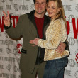 Stockfoto: John Kassir and Julie Benz