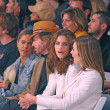 David Spade and Amanda Peet - Stockfoto