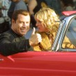 Постер, плакат: John Travolta and Uma Thurman