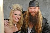 Kiera Chaplin and Zakk Wylde — Stock Photo