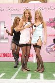 Traci Bingham, Cassie Moore and Maile Moore — Stock Photo