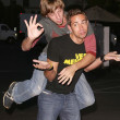 Joel Moore and Zachary Levi — Stockfoto #17221349