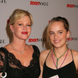 Melanie Griffith and daughter Dakota Johnson — Stock Photo