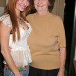 Phoebe Price and mom Flora Price — Foto de Stock