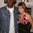 Stock Photo: Randy Jackson and PaulAbdul