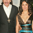 ������, ������: Carlos Santana and Salma Hayek