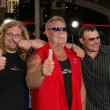 Michael Teutul, Paul Teutul Sr. and father Paul Teutul Jr. — Stock Photo