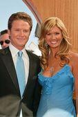 Billy Bush and Mary Hart — Stock Photo
