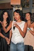 Persia White, Jill Marie Jones and Golden Brooks — Stock Photo