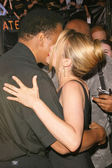 Muhammad Ali and Alicia Silverstone — Stock Photo