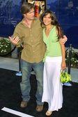 Chris Carmack and Nadine Velazquez — Stock Photo