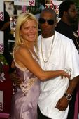 Lizzie Grubman and Ja Rule — Stock Photo