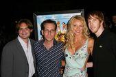 Will Friedle, Gary Preisler, Nikki Ziering and Chris Owen — Stock Photo