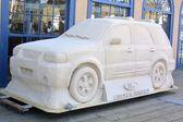Ford Escape Hybrid model — Stock Photo
