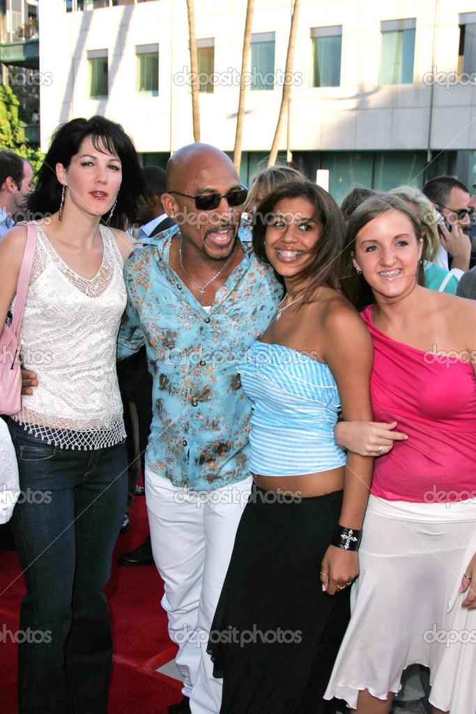 Montel Williams, daughter Maressa and girlfriend – Stock ...  Montel Williams...