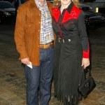 Barbara Eden and husband Jon Eicholtz — Stock Photo