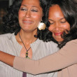 Постер, плакат: Tracee Ellis Ross and Creator Producer Mara Brock Akil