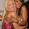 Katie Lohmann and Traci Bingham — Stock Photo