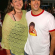 Eli Roth and Camryn Manheim — Stock Photo