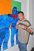 Boxer Danny Musico — Stock Photo