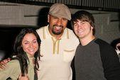 Lindsey Labrum, Sala Baker and Jason Ritter — Foto Stock
