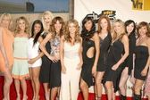 Carmen Electra and the Pussycat Dolls — Stock Photo