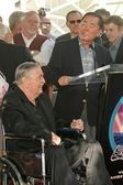 James Doohan and George Takei — Stock Photo